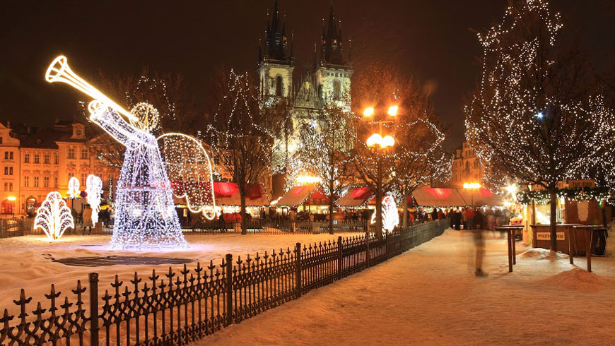 the capital of czech republic is a wonderful place to visit during the advent vanocni trh is the central place of pragues advent story - Best Places To Visit During Christmas
