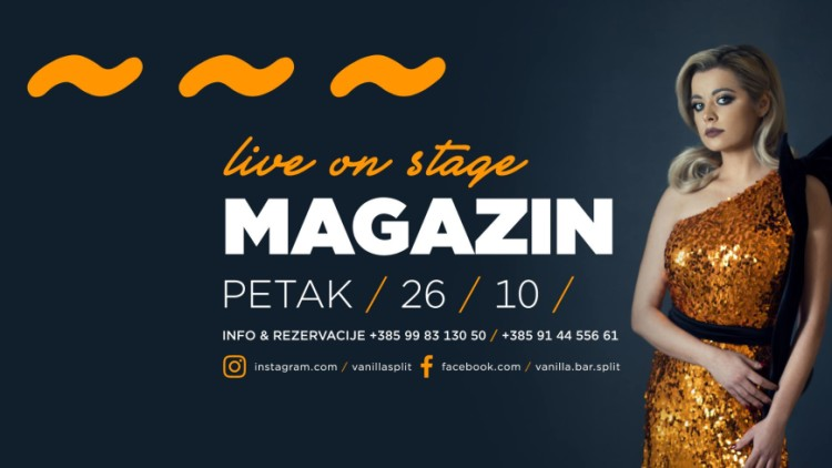 Live on stage /// Magazin Events Split