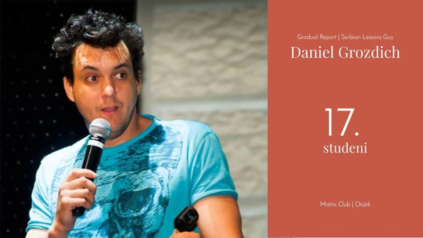 2. Stand-up comedy night - Daniel Grozdich