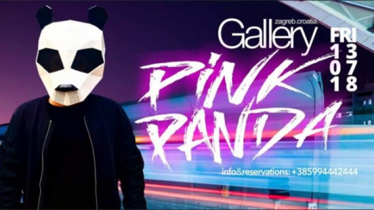 PINK PANDA @GalleryClub - 13/07 Events Zagreb