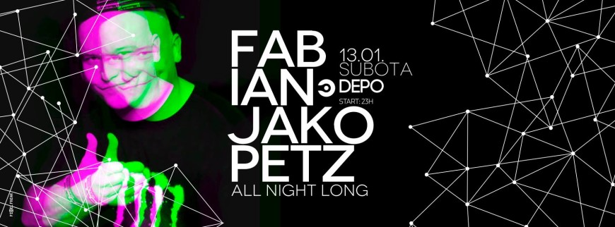 Fabian Jakopetz all night long at DEPOklub, Zagreb