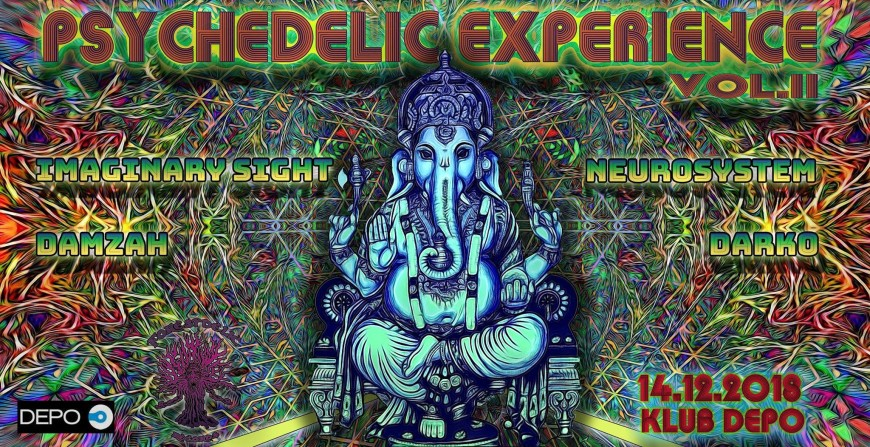 Psychedelic Experience Vol II /w Imaginary Sight | Event list