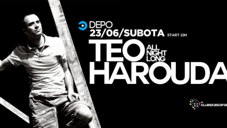 Teo Harouda all night at DEPOklub, Zagreb Events Zagreb