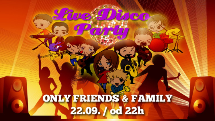 ONLY FRIENDS & FAMILY Events Zagreb