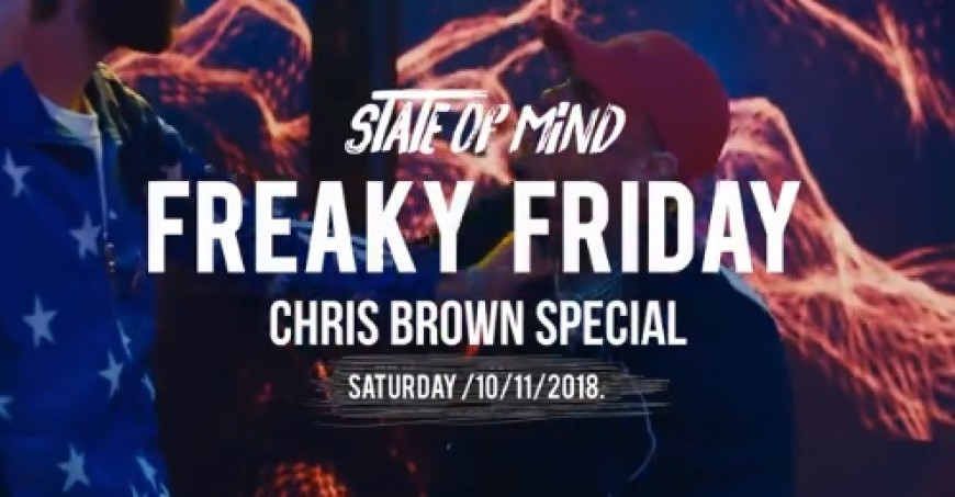 State Of Mind / CHRIS BROWN Special Barovi Zagreb