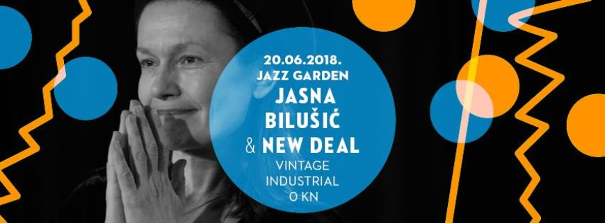 Jazz Garden: Jasna Bilušić & New Deal I 20/6/18 VIB