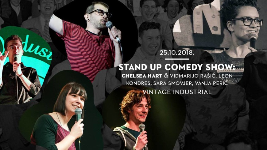 Stand Up Comedy Show: Chelsea Hart & gosti | Event list