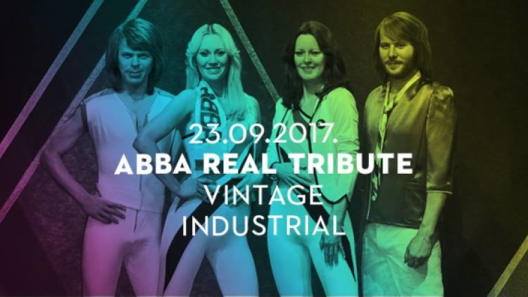 Abba Real Tribute I 23/09/2017 I Vintage Industrial Events Zagreb