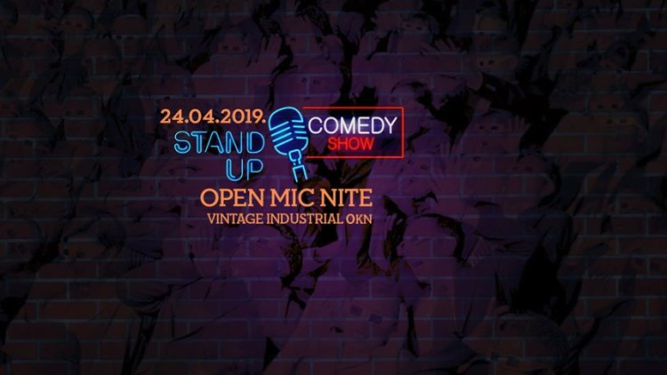 Fun Times: Stand Up - Open Mic Nite Events Zagreb