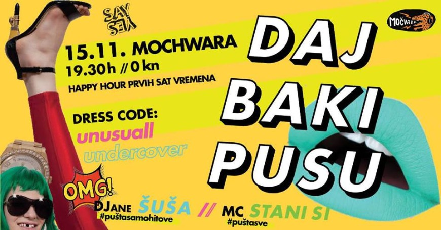 Daj baki pusu - ultra mega dance undercover silly night