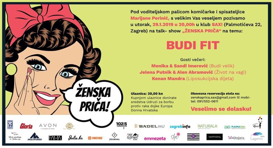Zenska Prica Budi Fit Event List
