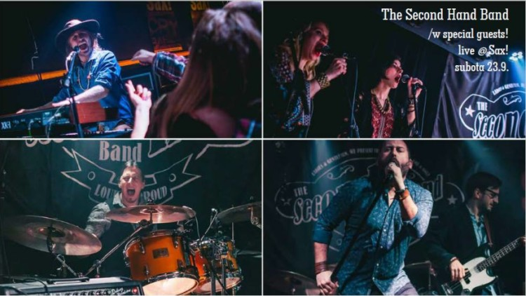 The Second Hand Band w/ special guests live @ Sax! Events Zagreb