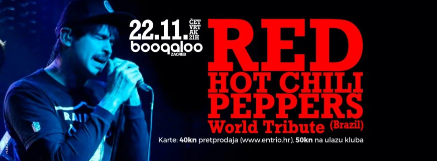 Red Hot Chili Peppers World Tribute   Event list