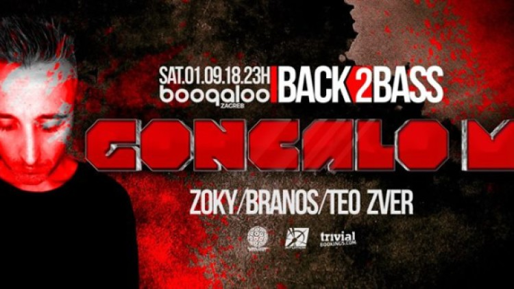 Back2Bass w Goncalo M / Boogaloo [01.09.2018] Events Zagreb