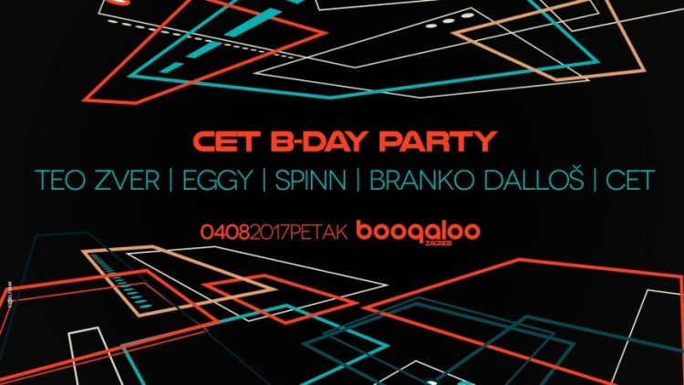 Cet B-Day party at Boogaloo Zagreb Events Zagreb