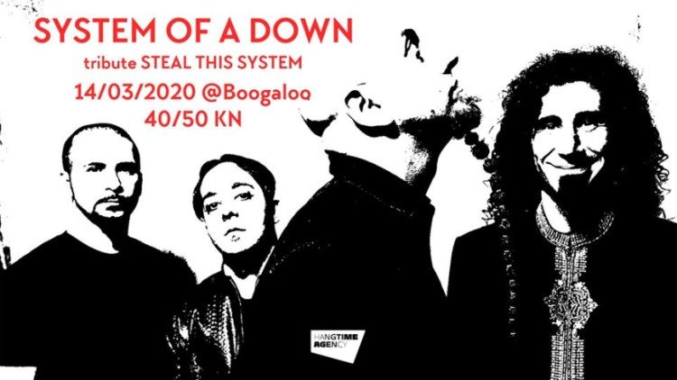 System Of A Down tribute Events Zagreb