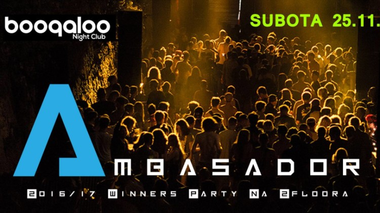 25.11. Ambasador Winners Party Events Zagreb