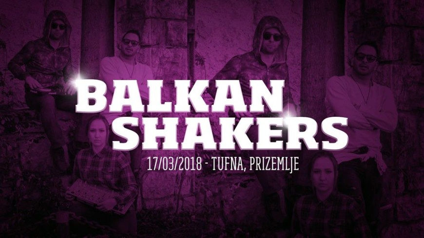 Balkan Shakers at TFN