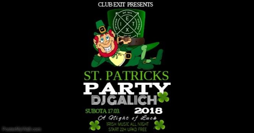 St. Patricks Day w/ DJ Galich @Club Exit