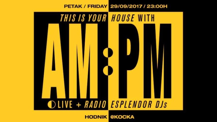 This is Your House with AM:PM live Events Split