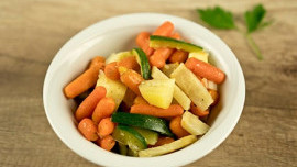 Boiled Vegetables from Butter