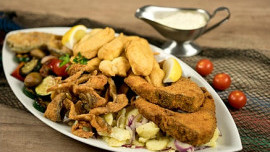 Fish Plate for two