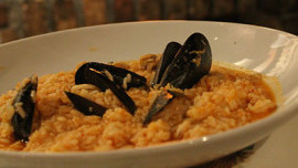 Risotto with Shells and Scampi
