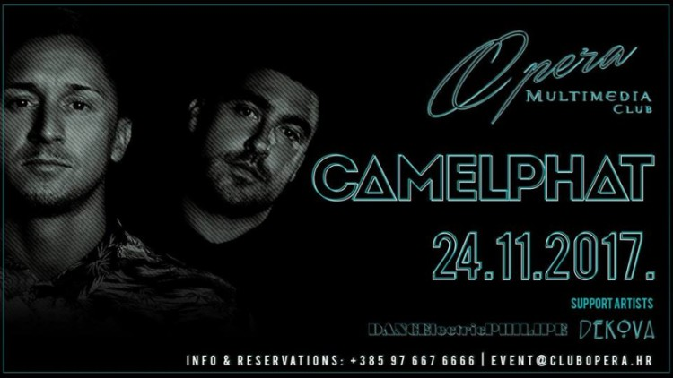CamelPhat at Opera Club Events Zagreb