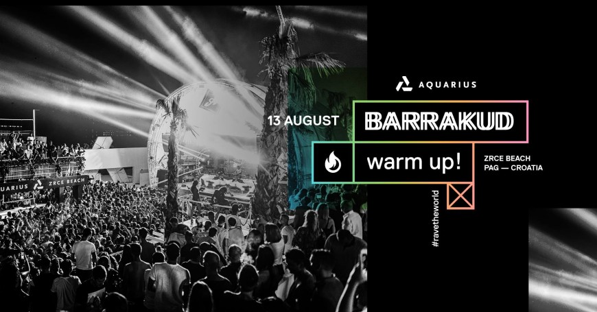 Barrakud 2017 Warm Up! w/ Jax Jones + very special guest