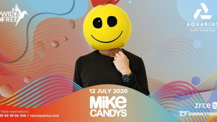 Mike Candys 12.07. | Aquarius club Events Novalja