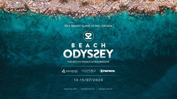 Beach Odysƨey Festival 2020 Events Novalja