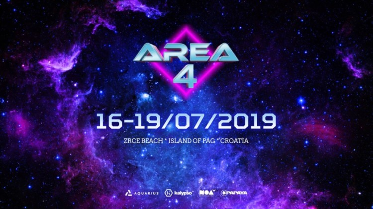 AREA 4 Festival 2019 Events Novalja