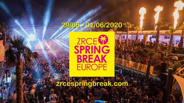 Zrce Spring Break Europe 2020 Events Novalja