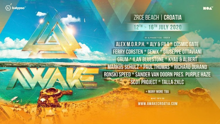 AWAKE Croatia Events Novalja