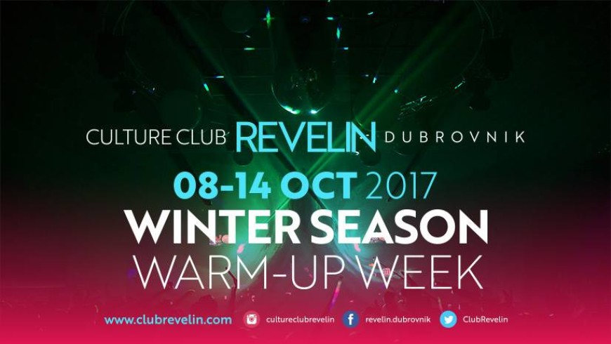 Winter Season Warm-Up Week @Culture Club Revelin