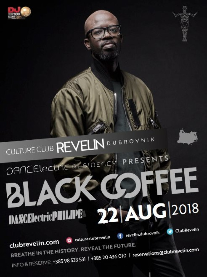 Black Coffee at DANCEϟectric Residency Bars Dubrovnik