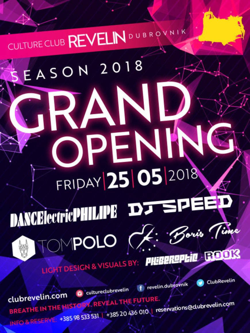 Grand Opening of Summer Season 2018 @Culture Club Revelin