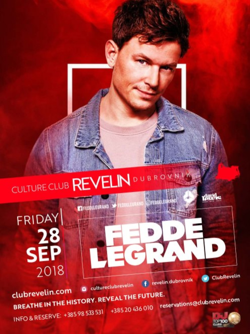 Fedde Le Grand | 28.09.2018 at Culture Club Revelin Barovi Dubrovnik