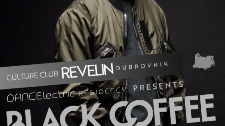 Black Coffee at DANCEϟectric Residency Events Dubrovnik
