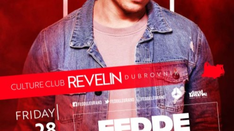 Fedde Le Grand | 28.09.2018 at Culture Club Revelin Events Dubrovnik