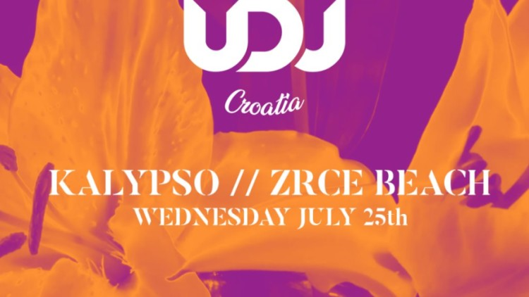 UDJ Croatia Kalypso Club Pag 25th July 2018 Događanja Novalja