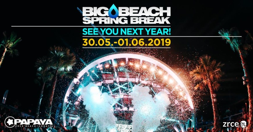 Big Beach Spring Break Zrce 2019
