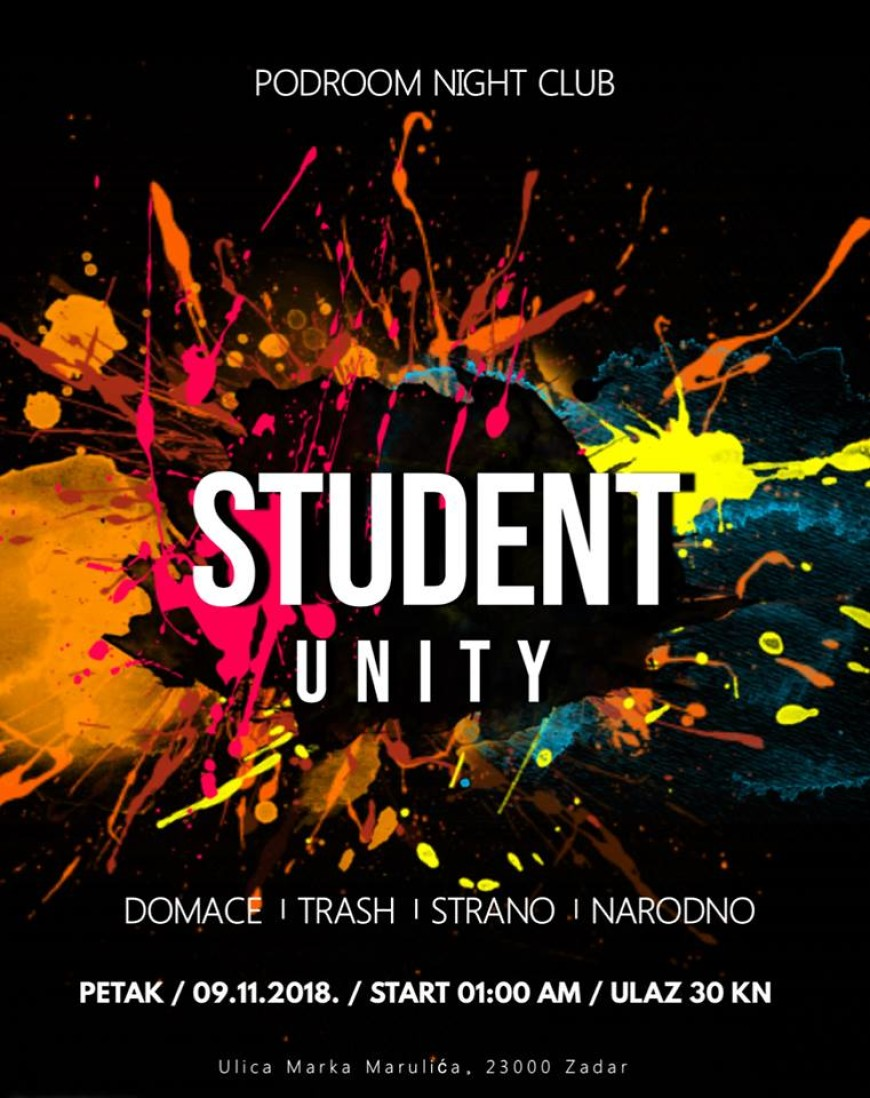 Student UNITY ~Podroom Night Club