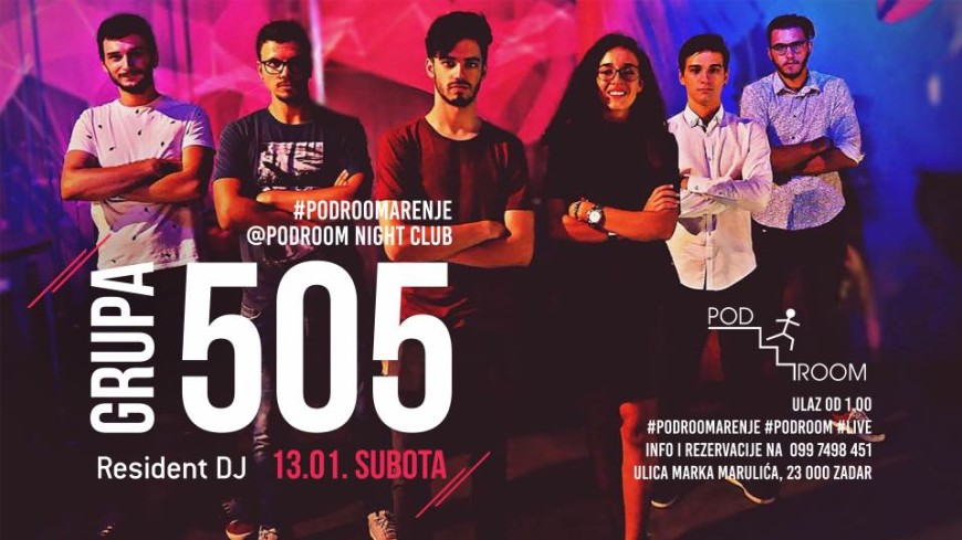 Grupa 5o5 Live @ Podroom night Club