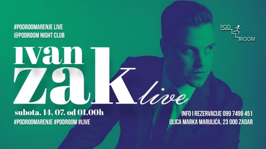 IVAN ZAK Live @ Podroom night club