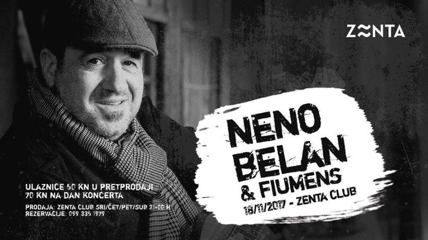 Neno Belan & Fiumens at Zenta, Split