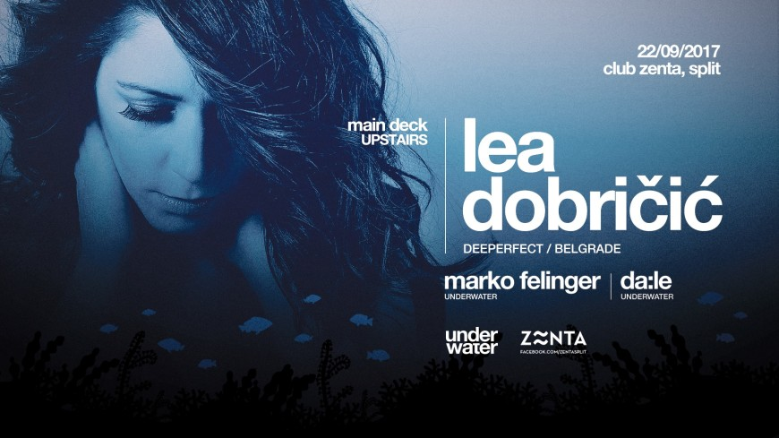 Underwater w/ Lea Dobričić at Zenta, Split