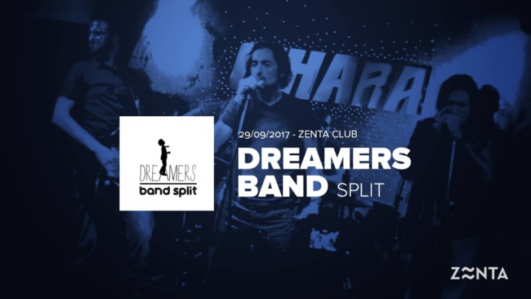 Dreamers Band at Zenta Club Events Split