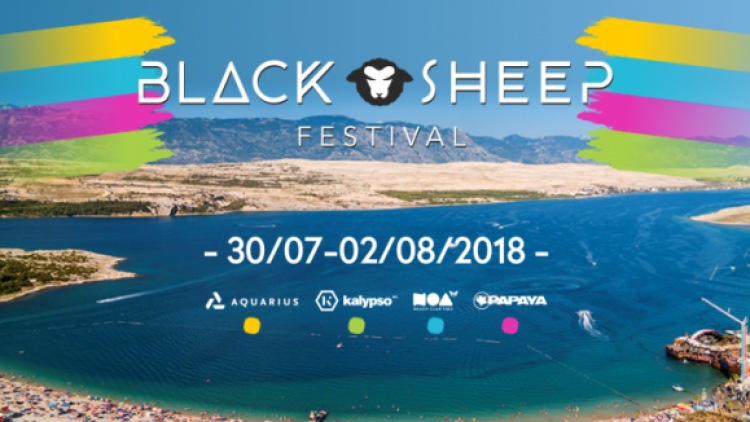 Black Sheep Festival 2018 Događanja Novalja