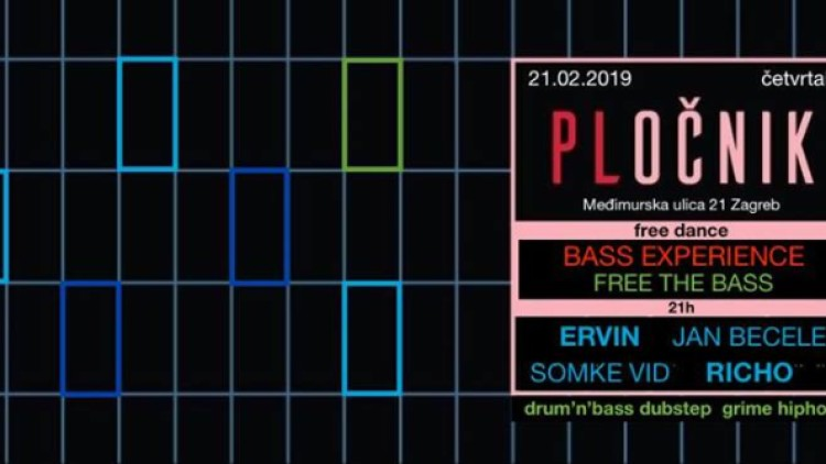 "Bass Experience: ""Free the Bass"" Events Zagreb"